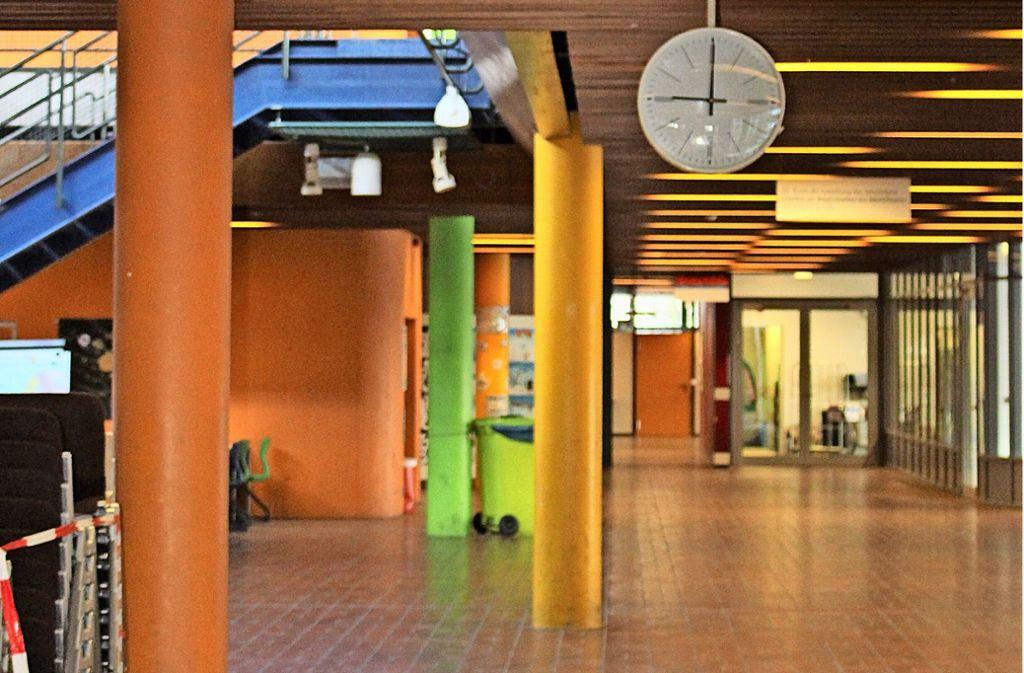 Im GSG herrscht Platzmangel. Lange Zeit wurde der Neubau gefordert. Foto: C. Holowiecki