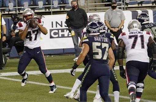 Wo ist der Ball von Jakob Johnsons erstem NFL-Touchdown?