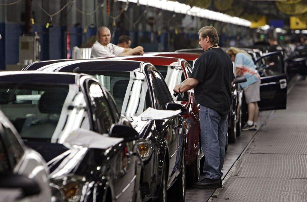 Ein GM-Werk in Ohio soll geschlossen werden. Foto: AP