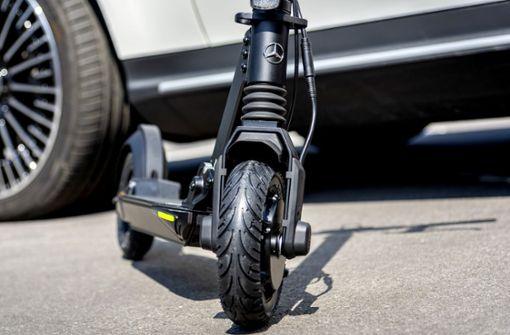 Mercedes-Benz will E-Scooter mit Stern anbieten