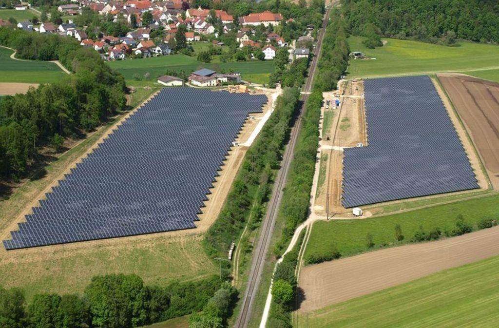 Die Stadtwerke Esslingen haben sich beim Solarpark Riedlingen eingekauft. Foto: Bernd Röcker