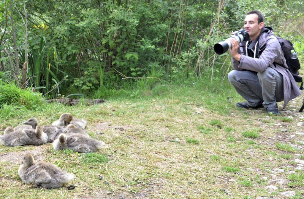 Marco Wolf hat sich das Fotografieren selbst beigebracht. Foto: Sandra Hintermayr