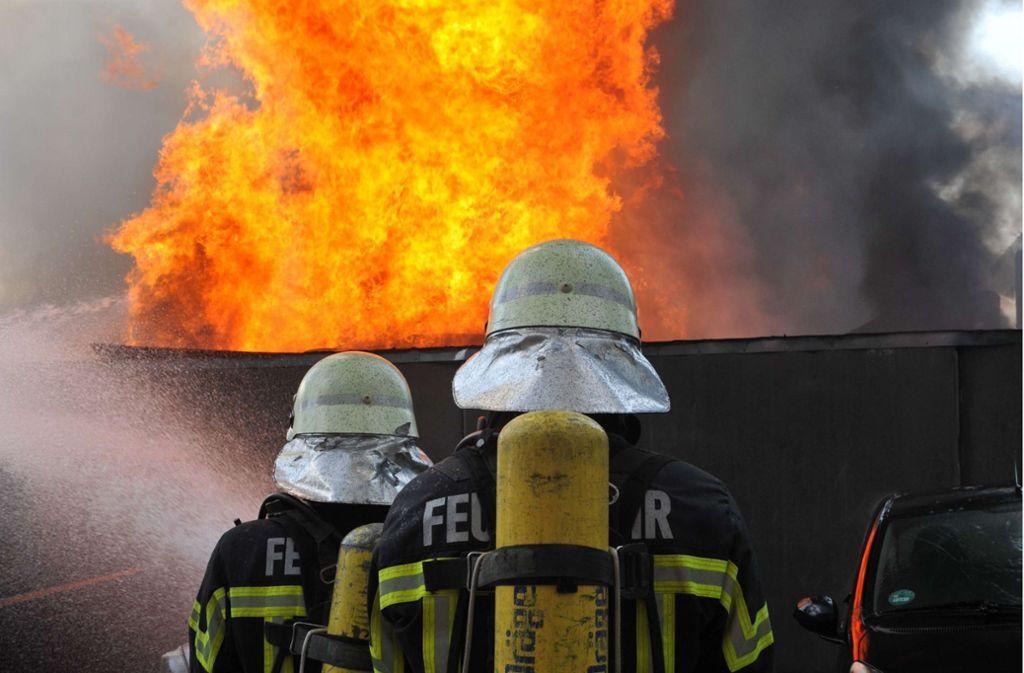 Mitten in Fellbach  findet am 12. Mai  ein Tag der Feuerwehr statt. Foto: Feuerwehr/Alexander Ernst