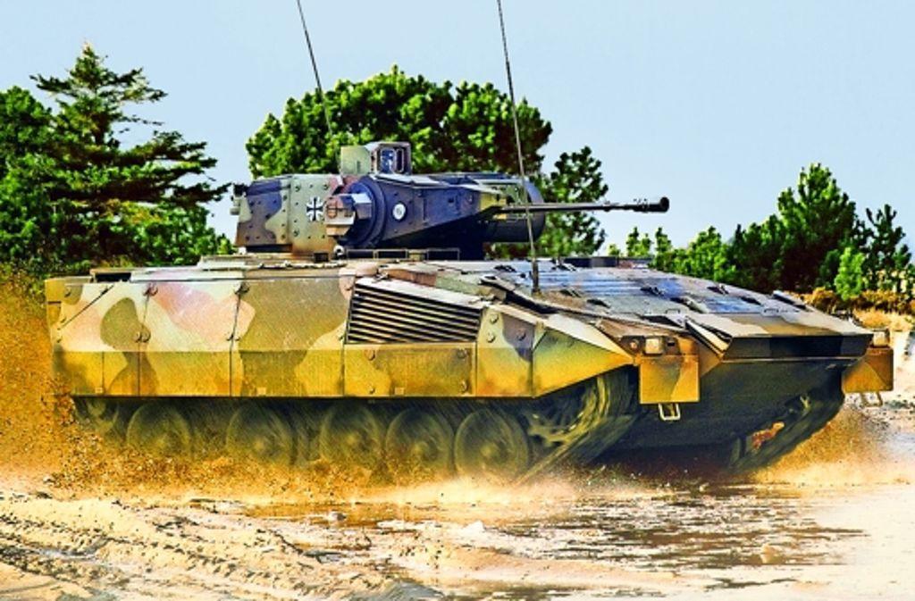 Schützenpanzer Puma Mängel