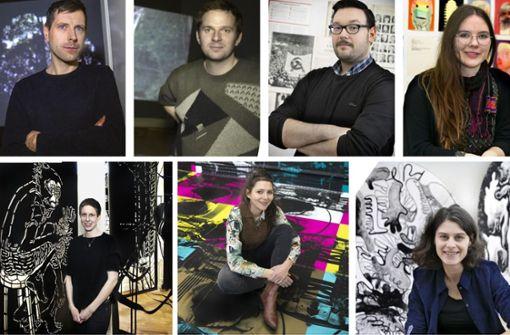 Sieben junge Talente auf dem Absprung