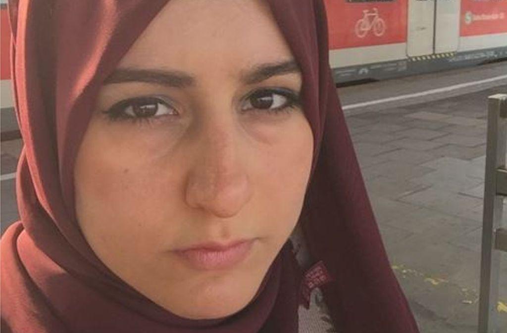 Die muslimische Studentin und Bloggerin Merve Kayikci wurde eigenen Angaben zufolge wüst in Stuttgart beschimpft. Foto: Merve Kayikci