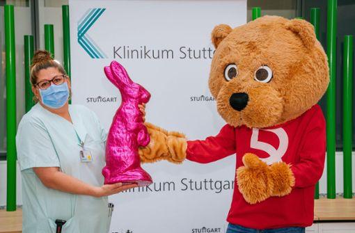 8000 Osterhasen für Klinikum-Mitarbeiter