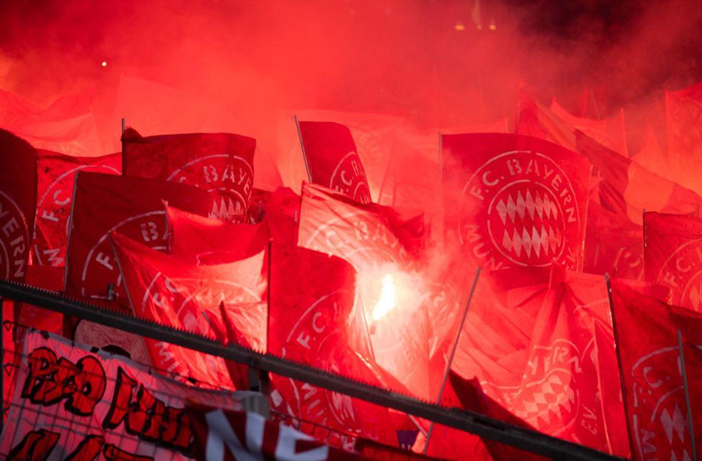 Die Ultras des FC Bayern sorgten am vergangenen Wochenende für Spielunterbrechungen in der Partie bei der TSG Hoffenheim. Sie beleidigten TSG-Mäzen Dietmar Hopp. Foto: dpa/Tom Weller