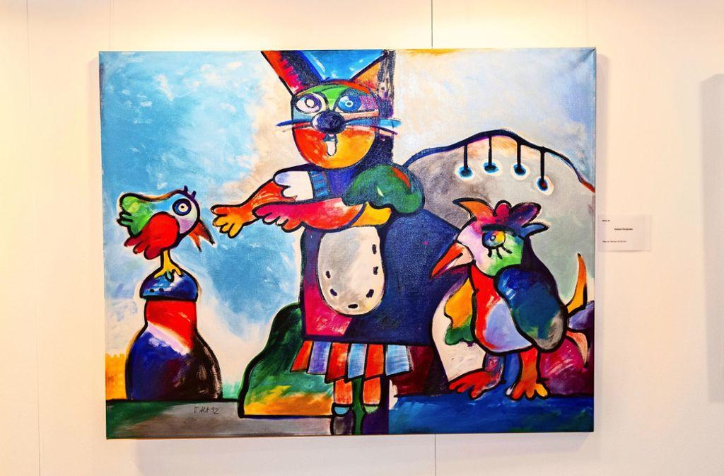 Von den Werken Otmar Alts fühlen sich besonders Kinder angesprochen. Foto: Ines Rudel
