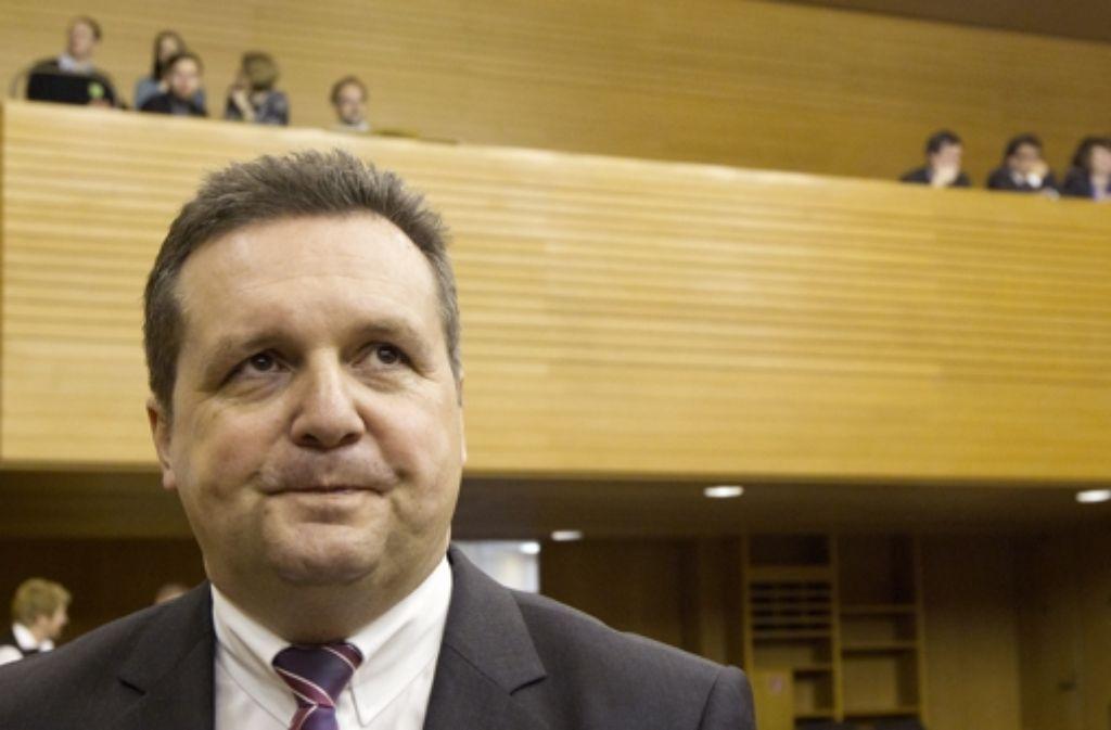 Stefan Mappus wird wohl nicht am 26. Oktober vor dem Ausschuss aussagen. Foto: dapd