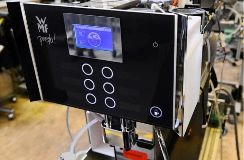 Hochwertige Kaffeevollautomaten sind der Wachstumstreiber des Unternehmens. Foto: dapd