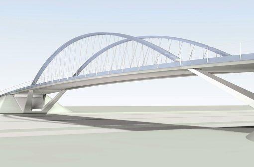 Brückenschlag mit Stadtbahn