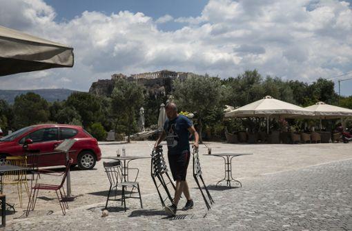 Griechenland setzt auf Selbsttests und gutes Wetter