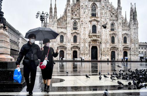 Italien riegelt Gebiet mit 15 Millionen Einwohnern ab