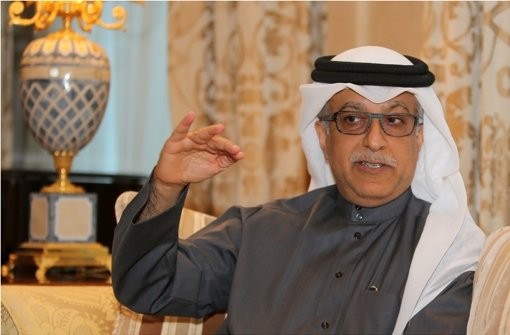 Wird Scheich Salman bin Ebrahim al-Khalifa nächster Fifa-Präsident? Foto: AFP
