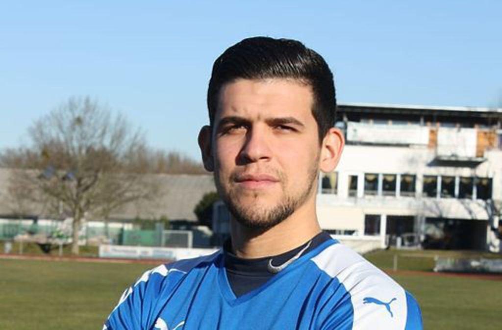 Mikael Da Silva vom SV Fellbach traf zweimal gegen SV Salamander Kornwestheim. Foto: Privat