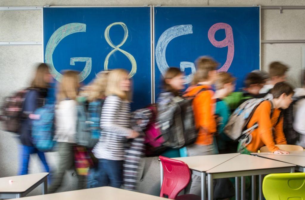 Die Gymnasiallehrer kämpfen mit ihrer Initiative G9 für mehr neunjährige Gymnasien, wenn Bedarf besteht. (Symbolfoto) Foto: dpa
