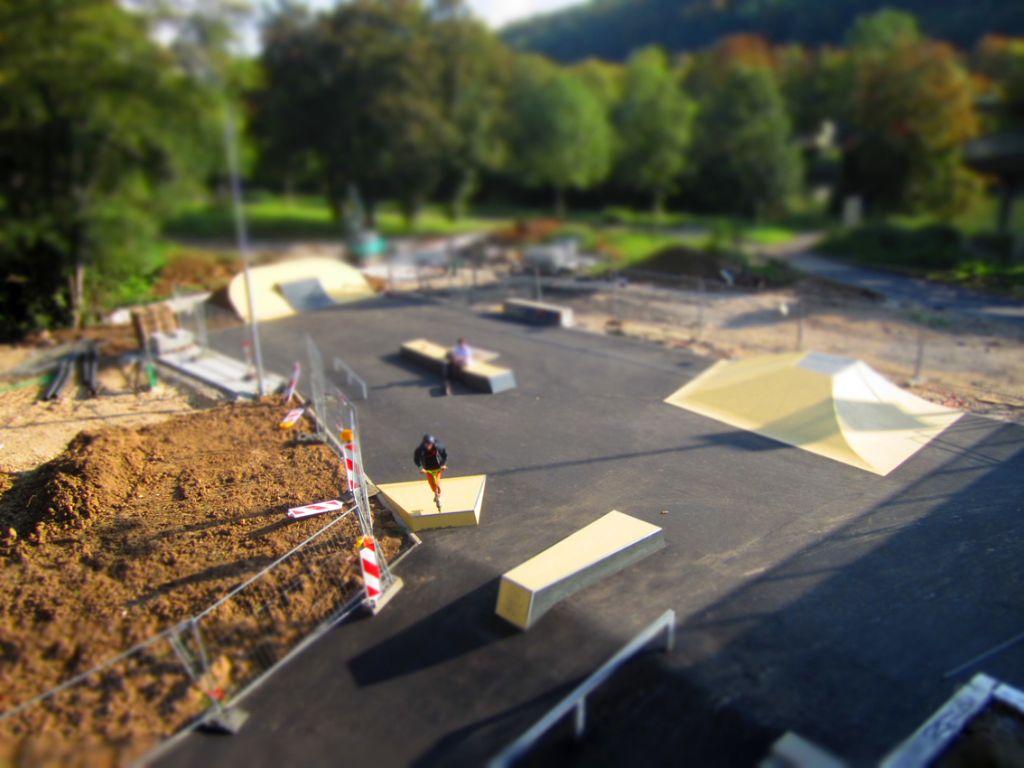 Der Skatepark in Esslingen ist erweitert worden. Foto: Andreas Schneider