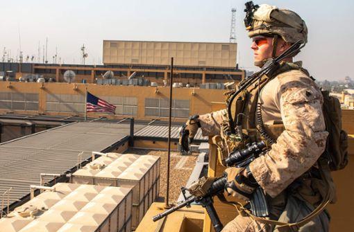 USA schicken weitere Soldaten in den Nahen Osten