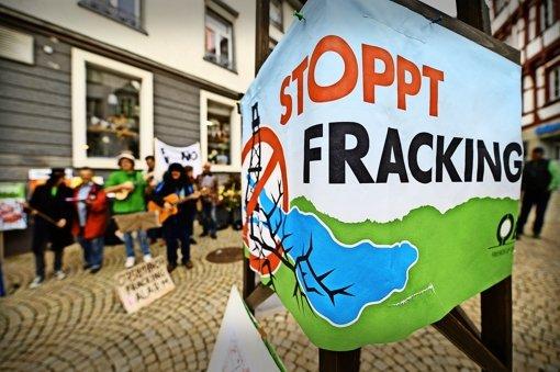 Fracking-Verbot mit Löchern