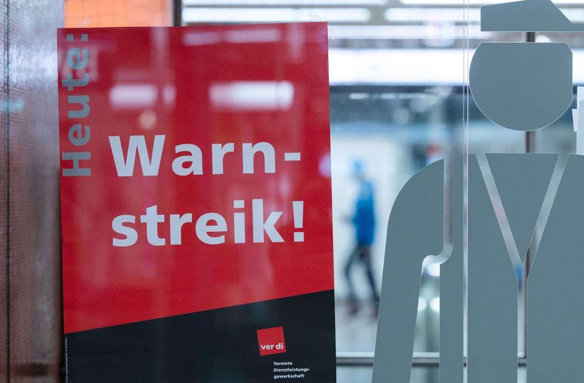 Auch in Reutlingen haben Busfahrer demonstriert (Symbolbild). Foto: dpa/Marijan Murat