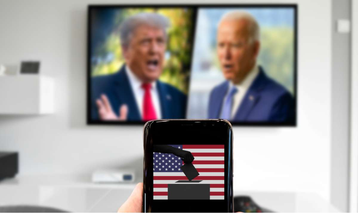 Wo läuft die US-Wahl im deutschen TV? Foto: No-Mad/Shutterstock