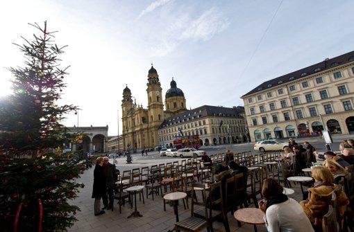 Frühlingshaftes Wetter gibt es in München dieses Jahr zu Weihnachten. Foto: dapd