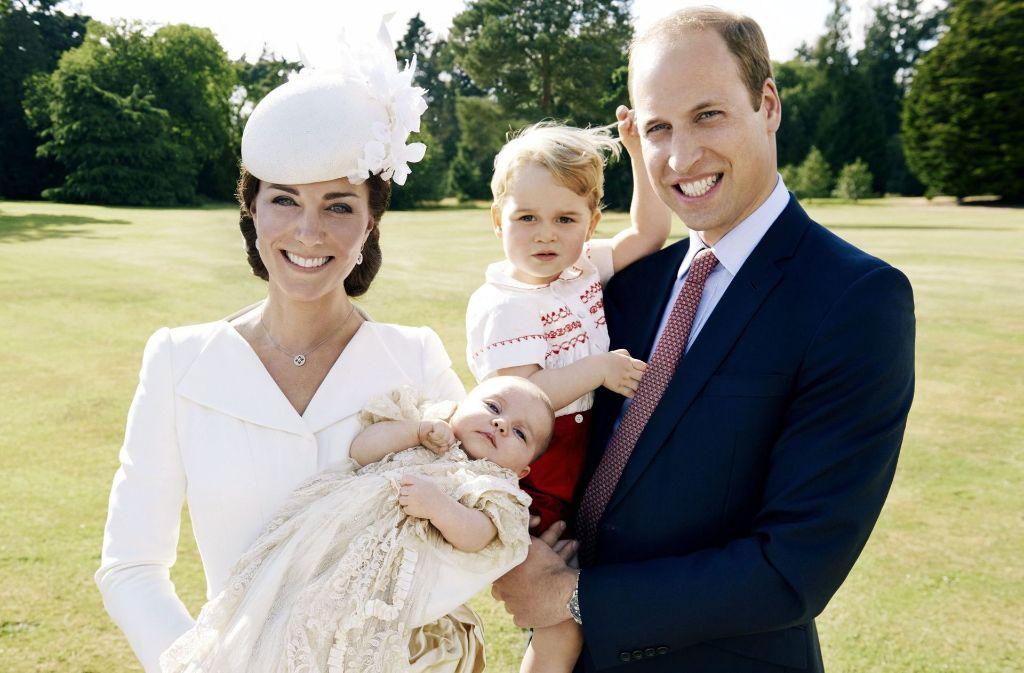 Mit seinen 35 Jahren ist Prinz William bereits zweifacher Vater Foto: dpa/Kensington Palace