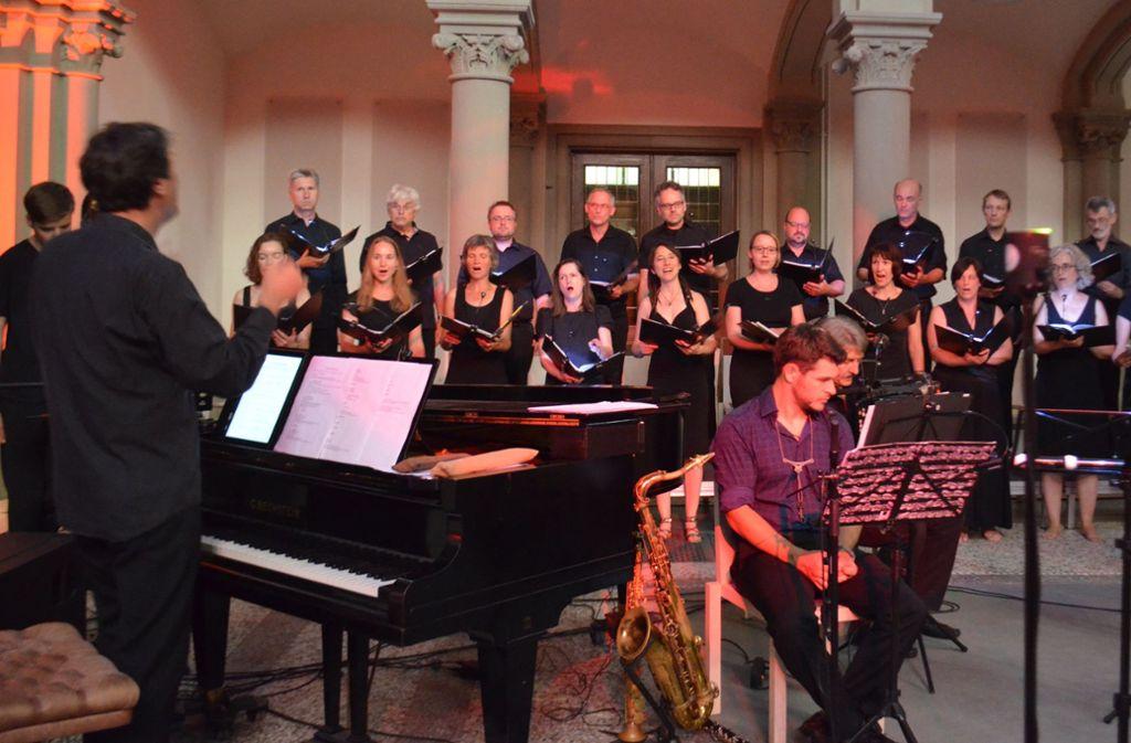 Auftritt des Vokalensembles beim Festival für jüdische Musik. Foto: Uli Meyer
