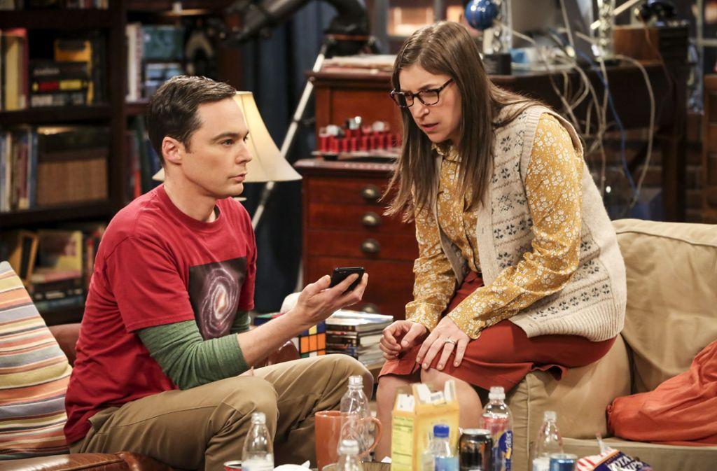 """""""The Big Bang Theory"""" wurde mehrfach mit dem Emmy ausgezeichnet. Foto: AP"""