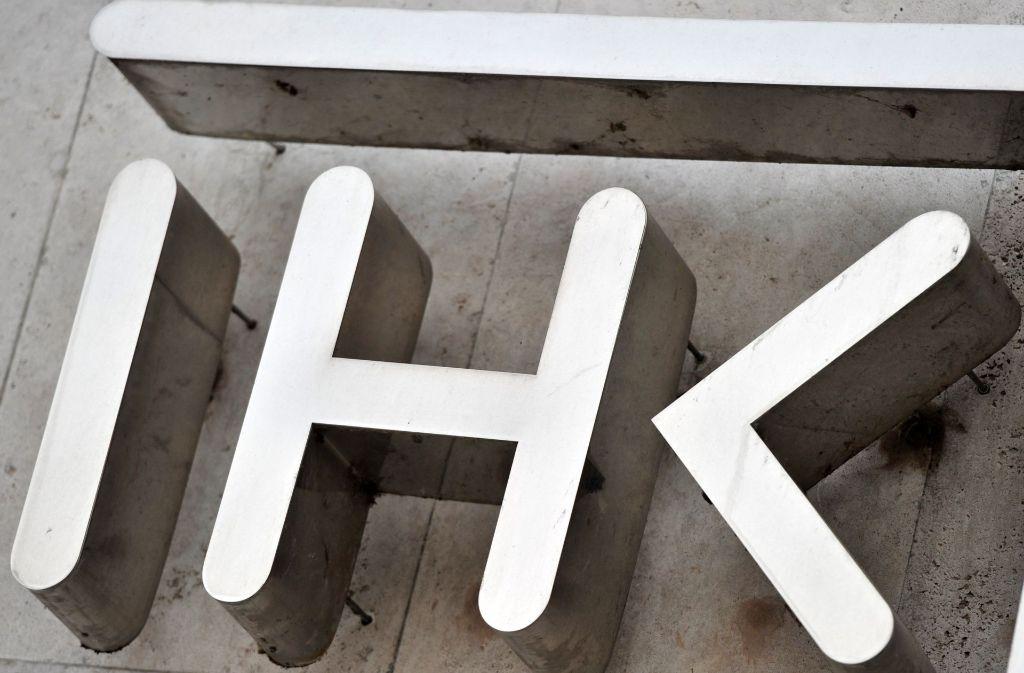 In der Vollversammlung der Industrie- und Handelskammer hing der Hussegen schief. Foto: dpa