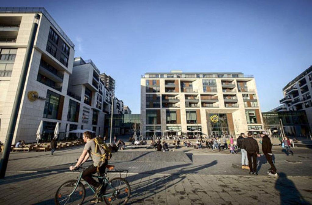 Am Mailänder Platz in Stuttgart-Mitte wurden am Mittwoch mehrere Kinder sexuell belästigt (Archivfoto). Foto: Lichtgut