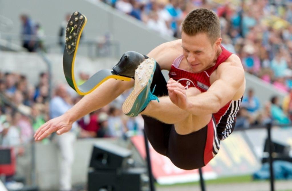Weitspringer Markus Rehm wird nicht für die EM der Nicht-Behinderten nominiert. Foto: dpa