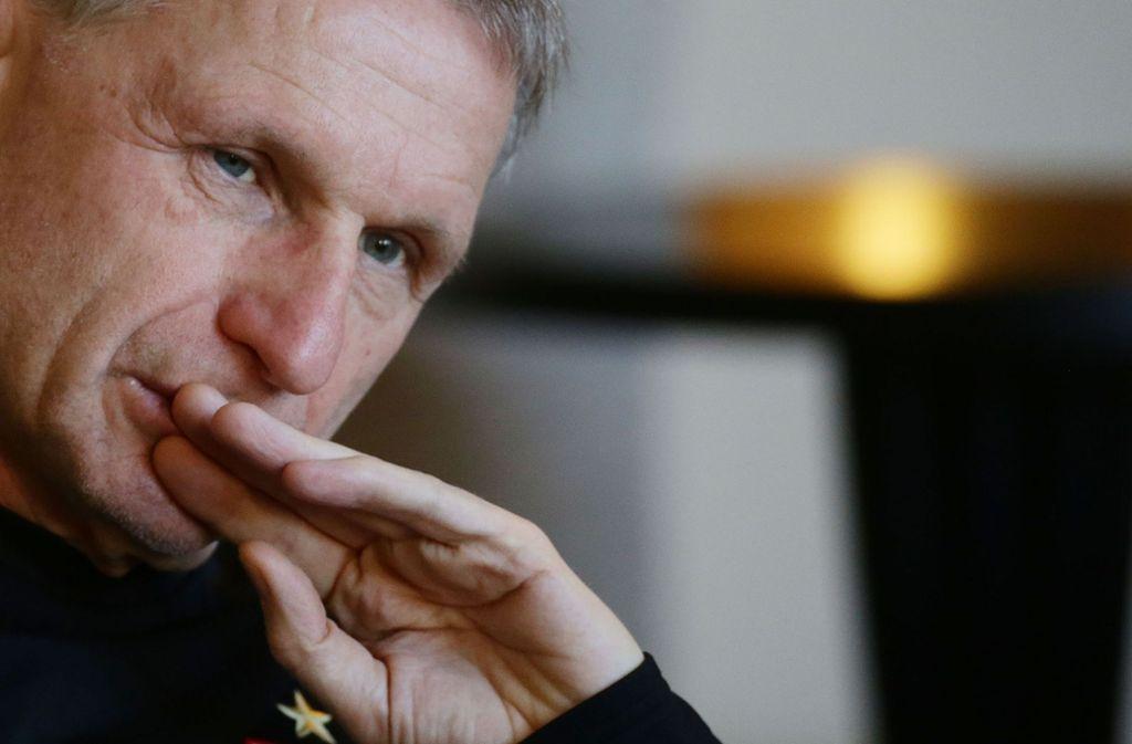 VfB-Sportvorstand Michael Reschke hinterfragt sich kritisch. Foto: Baumann
