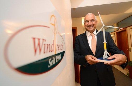 Windreich-Chef geizt mit  Zahlen zur Zukunft