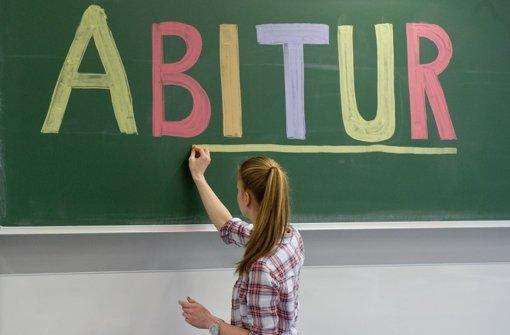 Am Mittwoch beginnt die Abiturprüfung im Land