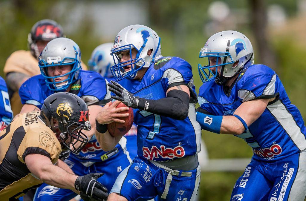 Football ist in Albertshausen die Sportart Nummer eins. Foto: StZ