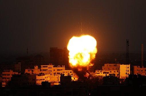 Drei Hamas-Führer bei Luftangriffen getötet