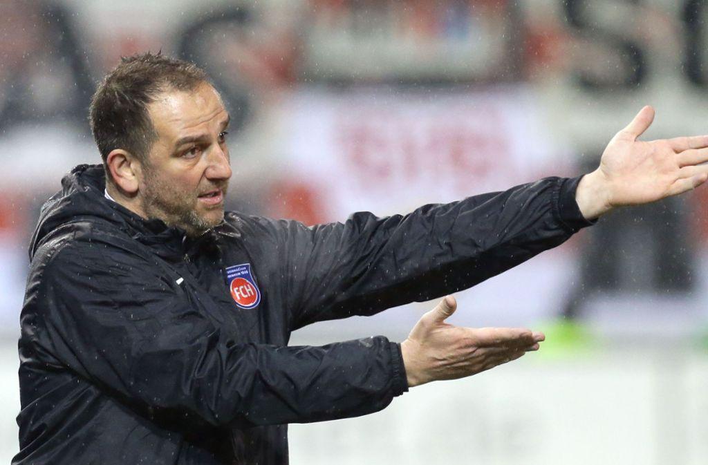Frank Schmidt leistet in Heidenheim herausragende Arbeit. Foto: Pressefoto Baumann