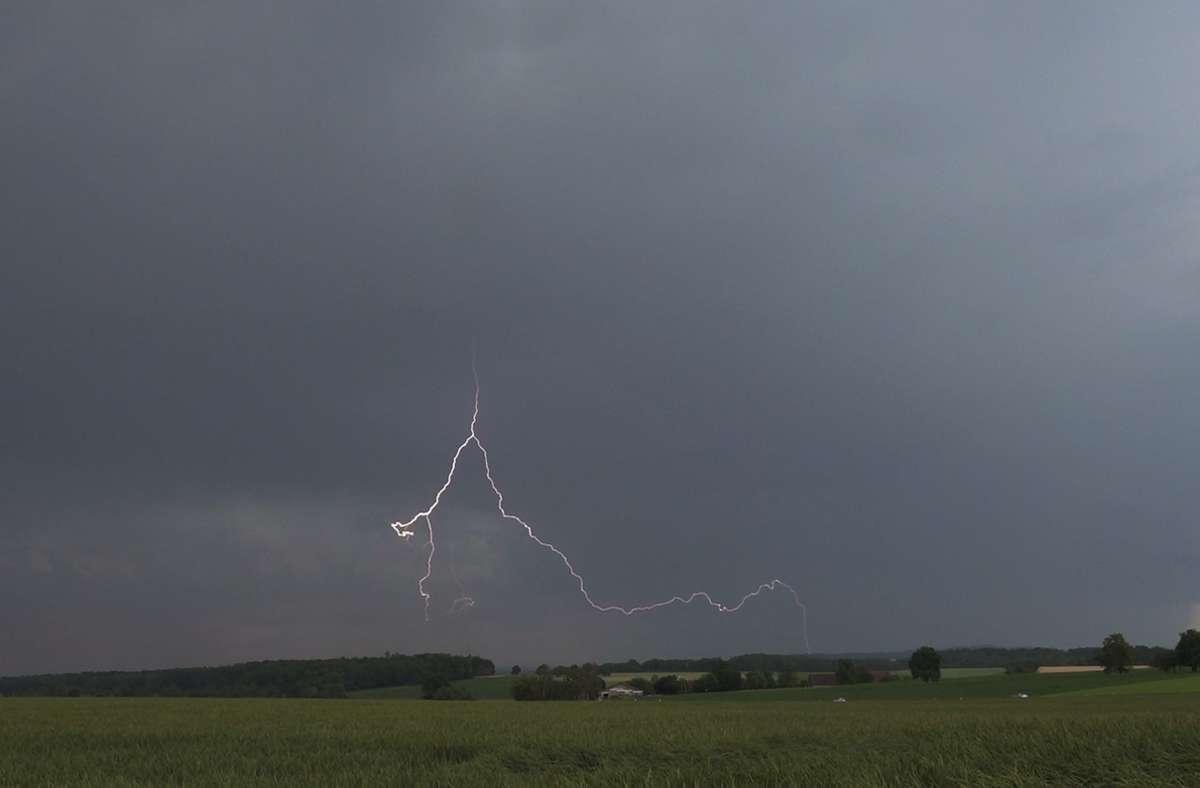 Am Mittwoch rechnet der  Deutsche Wetterdienst erneut mit Gewittern. Foto: Andreas Rosar/Fotoagentur-Stuttg