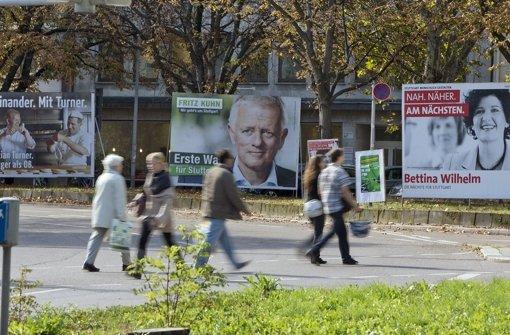 Fünf Fragen an  sechs  OB-Kandidaten