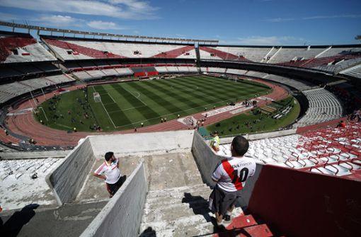 River Plate öffnet Monumental-Stadion für Obdachlose