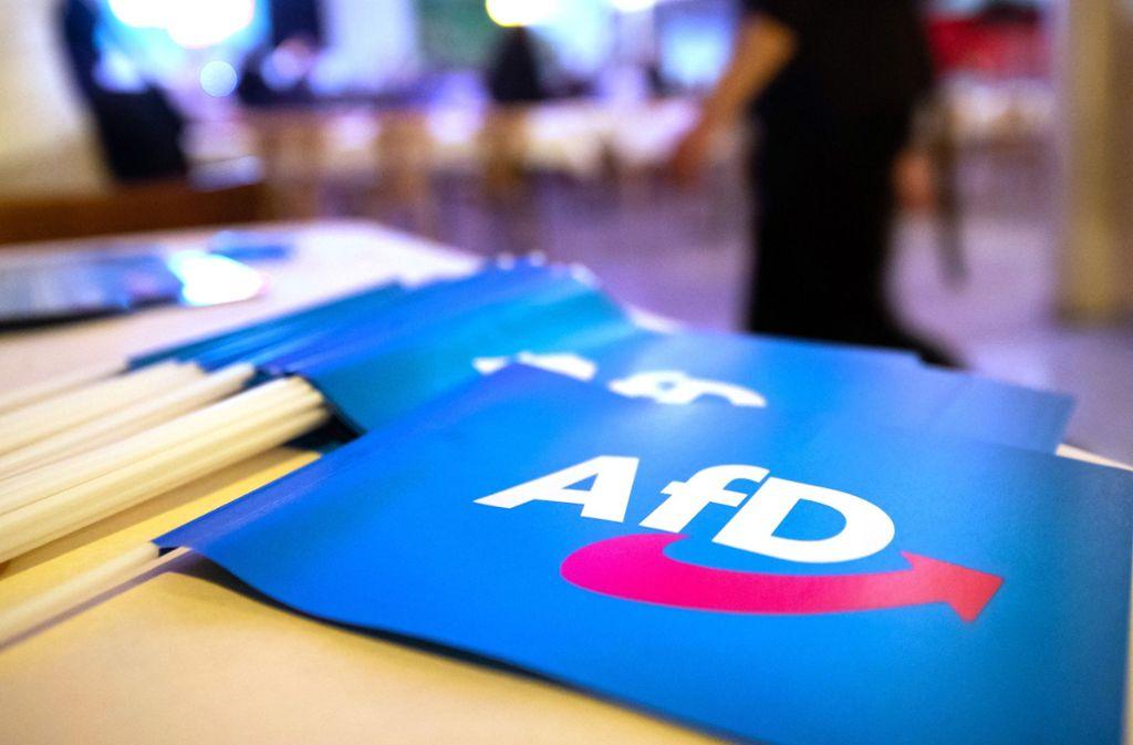 Die AfD ist in Sachsen laut einer Wahlumfrage die stärkste Kraft. Foto: dpa