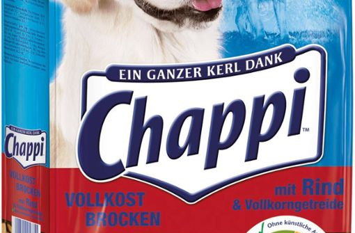 Hersteller ruft einige Pedigree- und Chappi-Trockenfutter zurück
