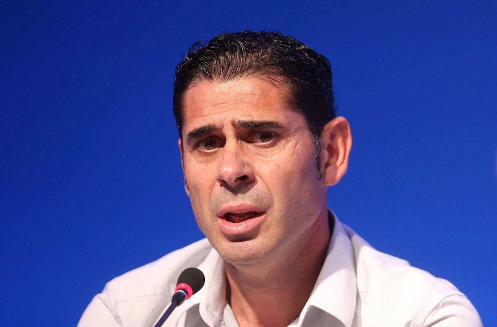 Der bisherige Sportdirektor Fernando Hierro wird die spanische Fußball-Nationalmannschaft bei der WM in Russland als Trainer betreuen. Foto: dpa