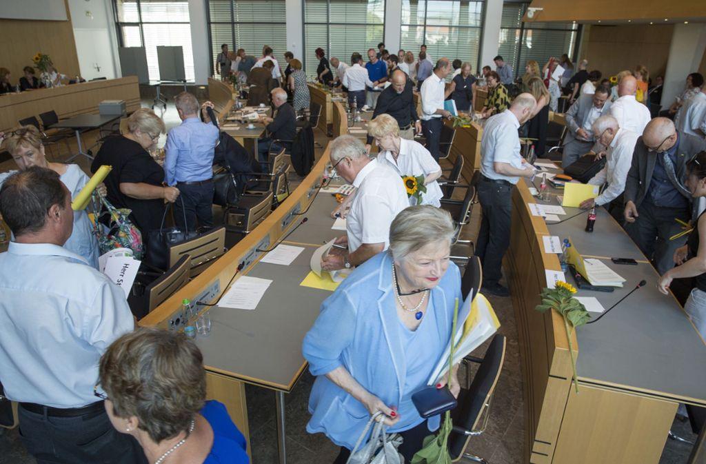 Stühlerücken im Stuttgarter Gemeinderat: 24 Plätze werden nach der Kommunalwahl neu besetzt. Foto: Lichtgut/Leif Piechowski