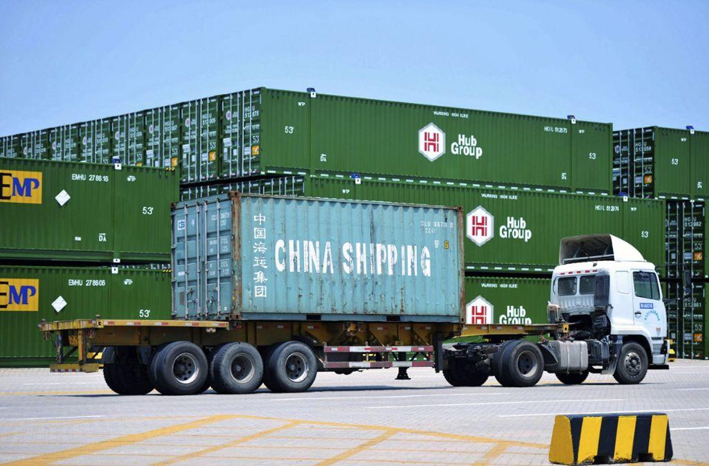 Im Handelskrieg zwischen den USA und China ist keinerlei Entspannung in Sicht. Foto: dpa