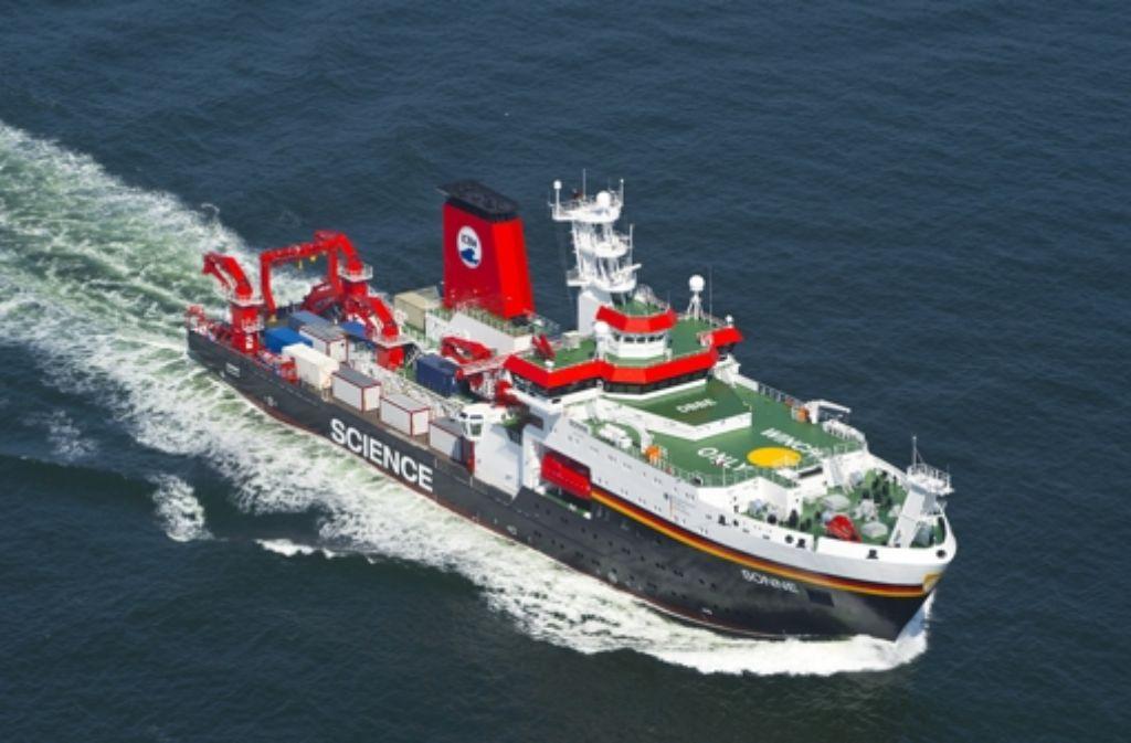 """Das neue deutsche Forschungsschiff """"Sonne"""" ist größer, geräumiger und moderner ausgestattet als sein gleichnamiger Vorgänger. In einer Bildergalerie geben wir einen Einblick. Foto: Meyerwerft"""