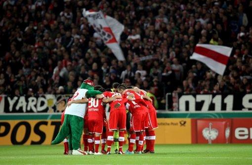 Zusammenhalt macht Siege. Foto: Pressefoto Baumann