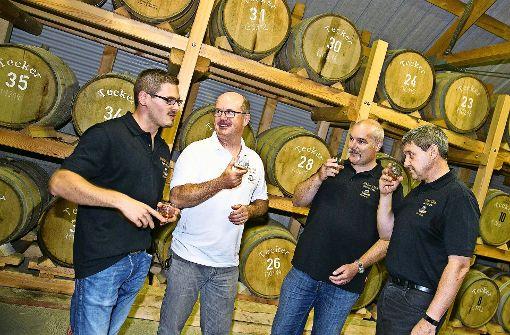 Ein Verein, der den Whisky pflegt